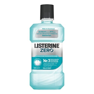 Listerine Zero, 3er Pack (3 x 500ml) -