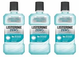 Listerine Zero, 3er Pack (3 x 500ml) -